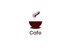 Cafe I Logo Vector